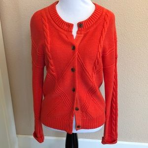 Cabi Spring 2019 Cable Cardigan, size small